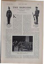 More details for 1915 ww1 article & pics 12th battalion london regiment rangers polytechnic