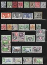 Collection of Old Stamps - British Honduras . . . . . . . 3 pages