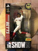 """Mookie Betts (Boston Red Sox) MLB The Show 19 7"""" Figure"""
