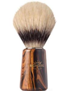 Mondial 1908 Boar Shaving Brush Wood