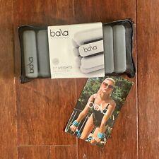 BALA BANGLES, Wrist/Ankle Weights - Adjustable - 2 lb Each - Slate - NEW