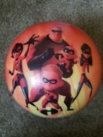Brunswick Disney The Incredibles Collectors Bowling Ball with Bag 12 lb B032