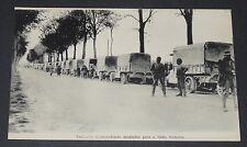 CPA CARTE POSTALE GUERRE 1914-1918 FRANCE CONVOI DE MUNITIONS POUR LE FRONT