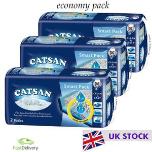 Catsan Smart Pack Simple  Hygienic Handling  Economy Pack: 3 x 2 Pack (2 inlays)