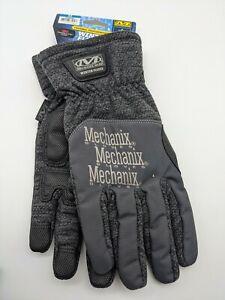 Mechanix Wear - Winter Fleece Gloves Size M - Touchscreen Capable - Grey/Black