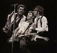 """BRUCE SPRINGSTEEN CLARENCE CLEMONS #2 A4 GLOSS POSTER PRINT LAMINATED 9.5/""""x8.3/"""""""