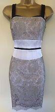 Karen Millen 8 Immaculate Floral Lace Corset Wedding Races Cruise Dress £165
