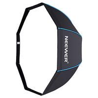 "Neewer 47"" Octagonal Softbox Umbrella with Blue Edges for Canon Nikon Speedlite"