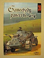 Samochody Pancerne 4X4  #28 (4X4 Armored Cars) **POLISH TEXT**