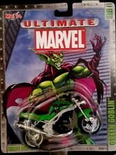 Maisto Ultimate Marvel Motorcycle Collection Green Goblin Series #1Triumph