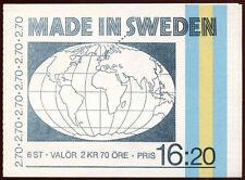 Sweden 1984 SG#SB373 Made On Sweden MNH Booklet #C24343