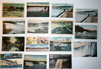 LOT OF 28  NIAGARA FALLS  NY NEW YORK ANTIQUE  POSTCARDS