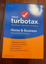 2018 Turbotax Home & Business Federal & State CD PERSONAL & SMALL BUSINESS