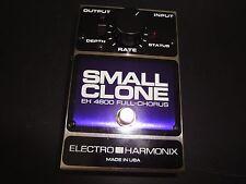 Electro Harmonix Small Clone Nano EH4600 Full Chorus Guitar Effects Pedal
