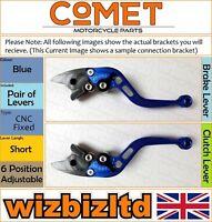 Yamaha FZ-1 S 2006-2015 [non-Pliant Court Bleu ] [ Comet Réglable Course Levier]