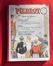 PIERROT  Album éditeur XVII - 1935 n°16 à 52 avril à décembre.