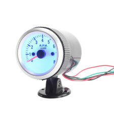 "1pcs 2"" 52mm 0-8000 RPM Car Tacho Rev Counter Blue LED Gauge Tachometer"