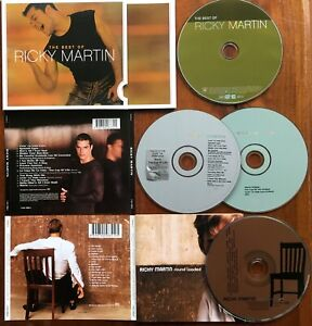 RICKY MARTIN (4CD)Best Of(Greatest Hits)+Sound Loaded+Self-titled 2 Disc Edition