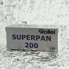 *NEW* Rollei Superpan 200 120 film