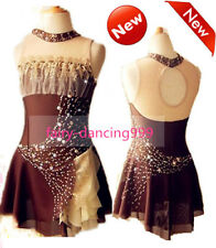 2018 New Style Ice Figure skating dress Ice skating dress for competition p447