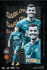 Newcastle United v Manchester United 2020/21 brand new football programme
