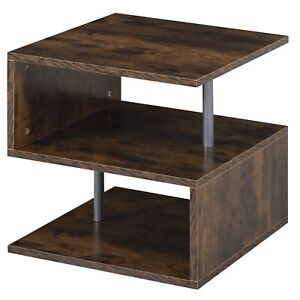 Side Coffee Table Tray Sofa Ottoman Couch Room Console Stand End TV Lap N