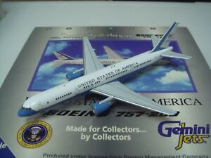 """Gemini Jets 400 United States of America Air Force Two B757-200 """"VC-32A"""" 1:400"""