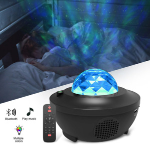 LED Galaxy Starry Night Light Star Projector Ocean Sky Party Kids Baby Room Lamp
