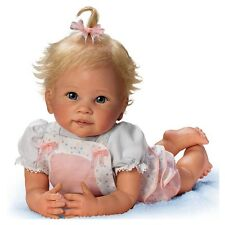 Asthon Drake Addie's Tummy Time Poseable 20 Inch Baby Girl Doll by Linda Murray