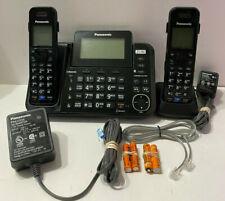 Panasonic KX-TG9542B Bluetooth Cordless 2 Line Cordless Phone 2 Handset