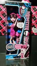 2012 MONSTER HIGH DOLL DEAD TIRED DRACULAURA  DAUGHTER OF DRACULA MIB