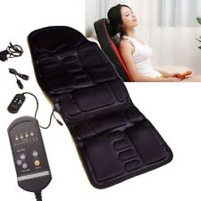 Back Massage Chair Heat Seat Cushion Neck Pain Lumbar Support Pads 2018 NEW
