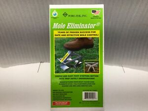 Wire Tek Mole Eliminator Trap