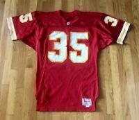 Vintage Kansas City Chiefs CHRISTIAN OKOYE Authentic Pro Cut Wilson Jersey 42