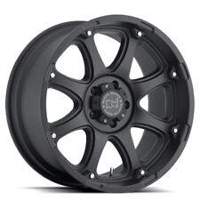 17 inch 17x9 Black Rhino Glamis Matte Black wheel rim 5x5.5 5x139.7 +0