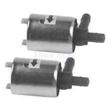 Elektro Magnetventil Ventil für Wasser Luft Gas, DC 12V 250MA ( 2 Stück)