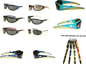 NFL  Sport Wrap Sunglasses 3 DOT UV 400 OFFICIAL LICENSED  All Team 01144
