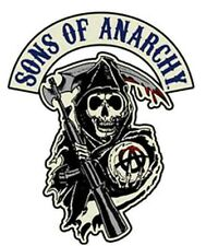 SONS OF ANARCHY SOA SAMCRO REAPER LICENSED  BIKER PATCH BY MILTACUSA