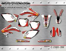 Honda CRf 450R 2005 up to 2008 graphics decals kit Moto StyleMX