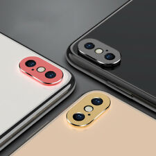 Metal Rear Camera Lens Case Protector Ring For iPhone Xs Max XR X 6s 7 8 Plus