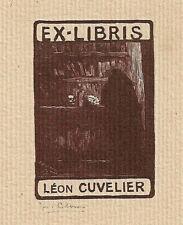 JOS. CLAES: Exlibris für Léon Cuvelier