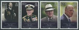 Tristan da Cunha 2021 MNH Royalty Stamps Prince Philip Duke of Edinburgh 4v Set