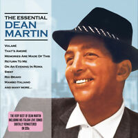 DEAN MARTIN - THE ESSENTIAL DEAN MARTIN - 2 CDS - NEW!!