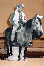 "James Arness Matt Dillon Gunsmoke Western Tabletop Display Standee 10 1/2"" Tall"