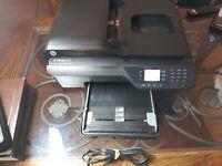 HP OFFICEJET 4620 ALL-IN-ONE INKJET PRINTER SCANNER COPY FAX W/POWER & USB CORDS