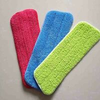 Mops Wet And Dry Replacement Mophead Washable Microfiber Cleaning Mop Pads