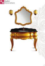 Designer Einzelwaschtisch Luxus Waschtisch Badmöbel Badezimmer Marmor Luxus New