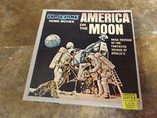 Vintage circa 1969 ~ Apollo 11 ~ Castle Films ~ America On The Moon ~ 8MM Film