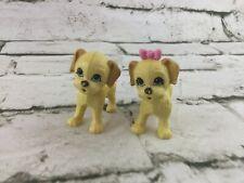 Dog Figures Dollhouse Pets Boy Girl Puppies Plastic