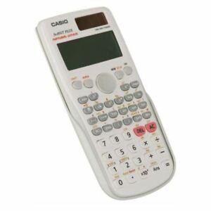 Casio FX 85GT Plus Scientific Calculator 260 Functions With A Hard Case White